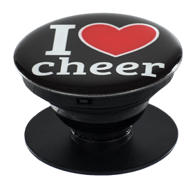 Chasse I Heart Cheer Phone Stand