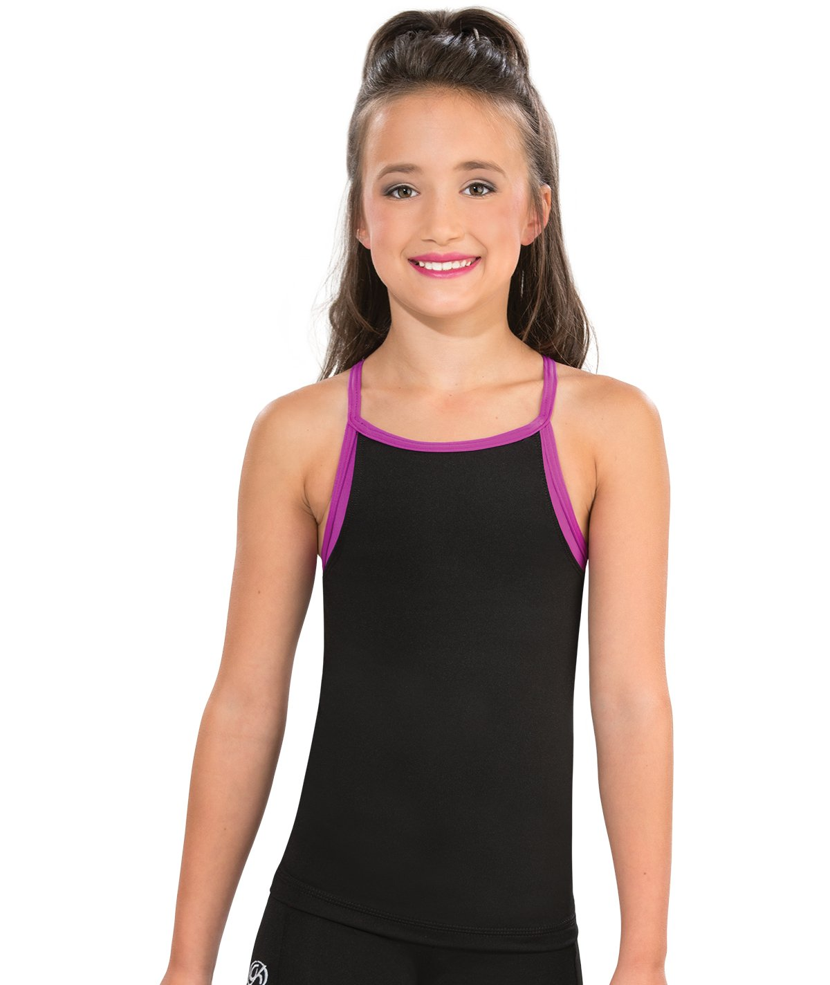 GK All Star Faux Layered Cheer Long Top
