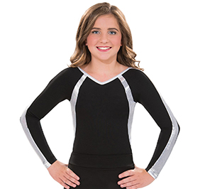 GK All Star Mystique Raglan Sleeve Uniform Leotard