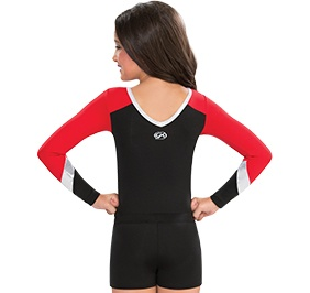 GK All Star Spirit Long Sleeve Uniform Leotard