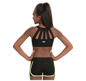 GK All Star Solid Focus Training Crop Top