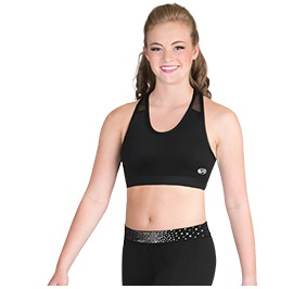 GK All Star In Motion Cheer Crop Top