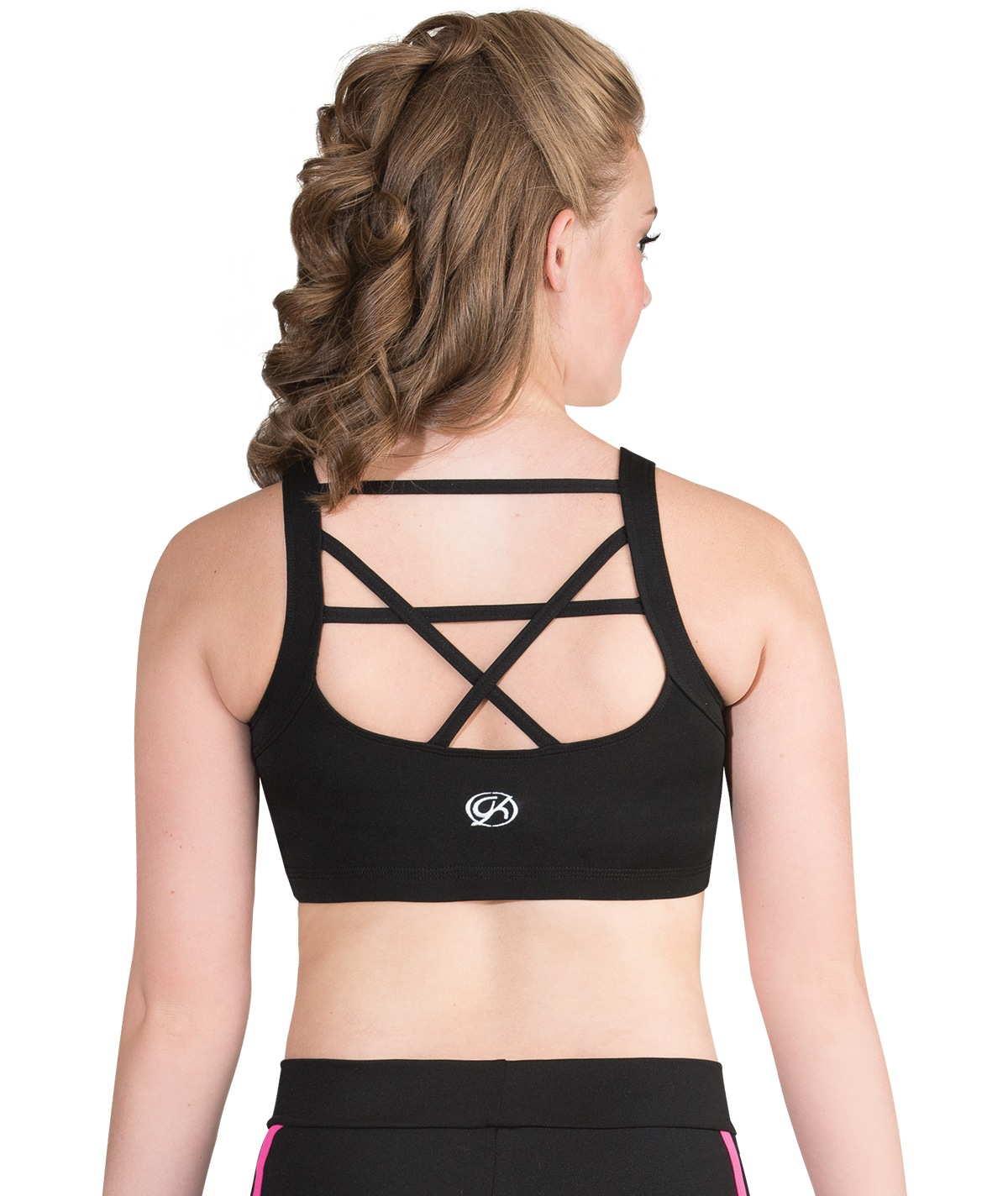 GK All Star Crisscross Strappy Back Crop Top