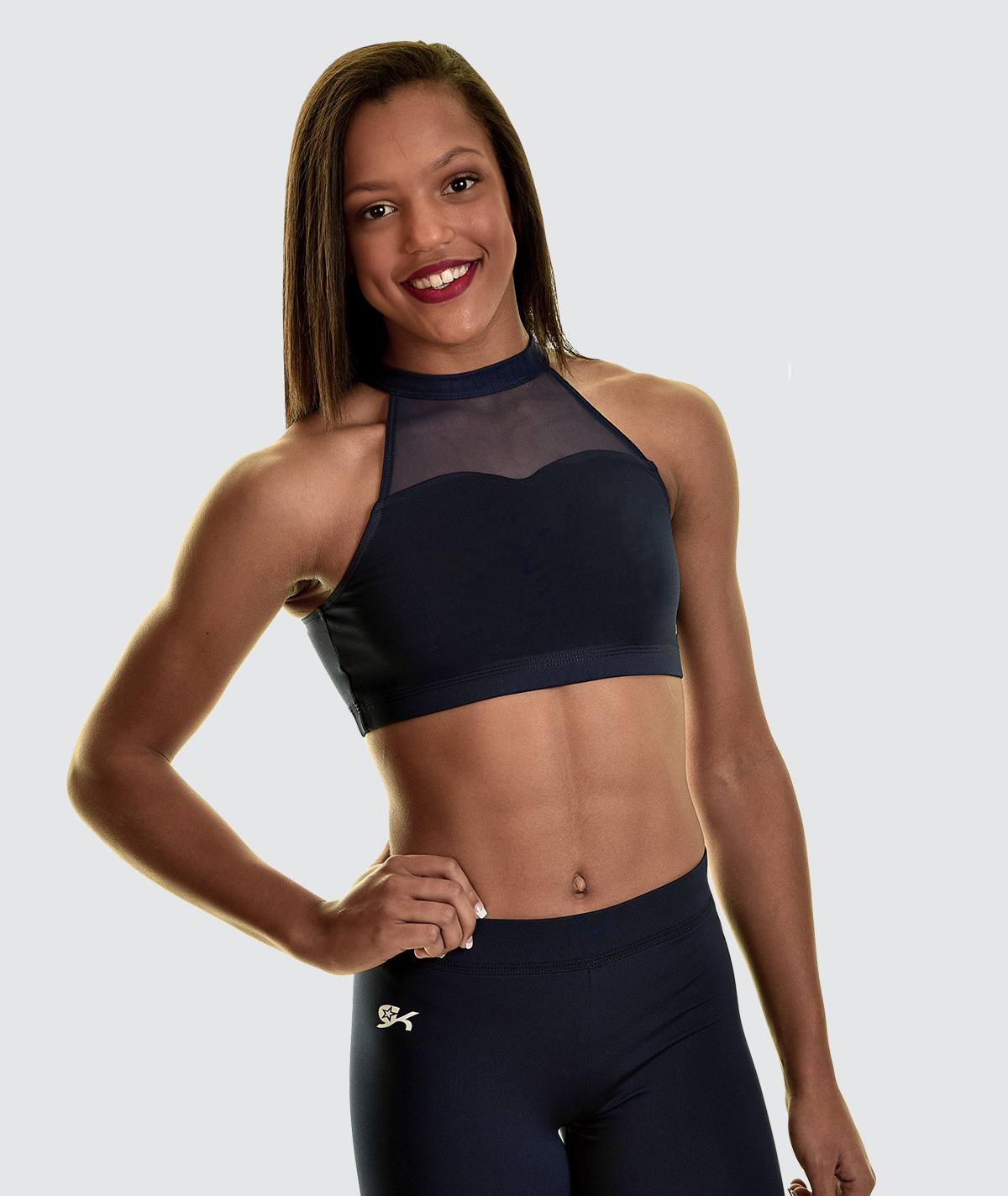 GK All Star Sweet Key Crop Top