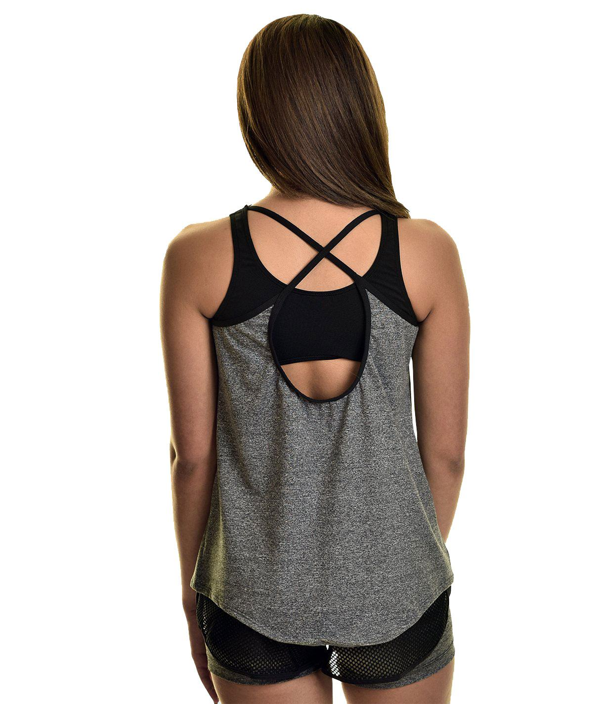 GK All Star Steel Rain Drop Tank Top