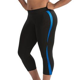 GK All Star Alternating Wave Capri Pants