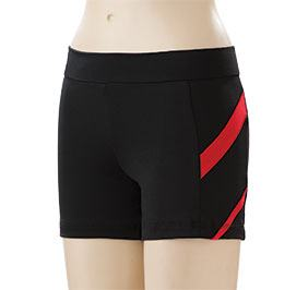 GK All Star Racing Stripe Cheer Shorts