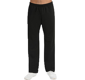 GK All Star Cheer Mens Black DryTech Pants