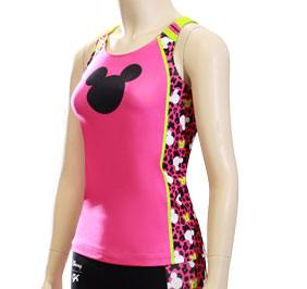 GK All Star Mickey Print Cheer Long Top