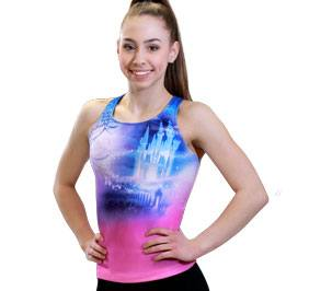 GK All Star Cinderella Castle Cheer Tank Top