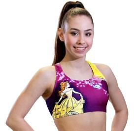 GK All Star Beauty and the Beast Cheer Crop Top