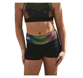 GK All Star Live Life in Color - High-Waisted Short