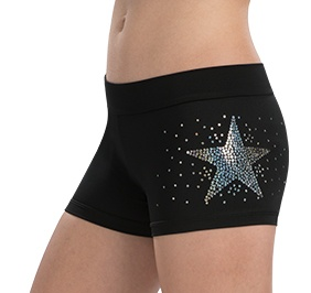 GK All Star Sequinz Star Cheer Shorts