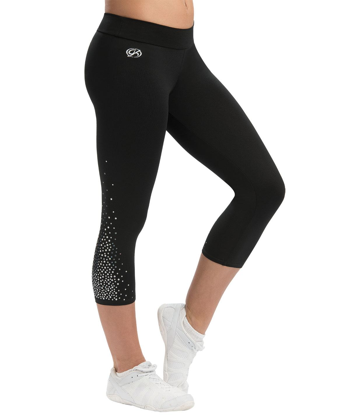 GK All Star Cascading Sequinz Capris