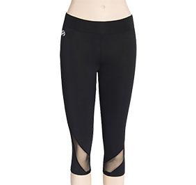 GK All Star Mesh Accent Cheer Capris