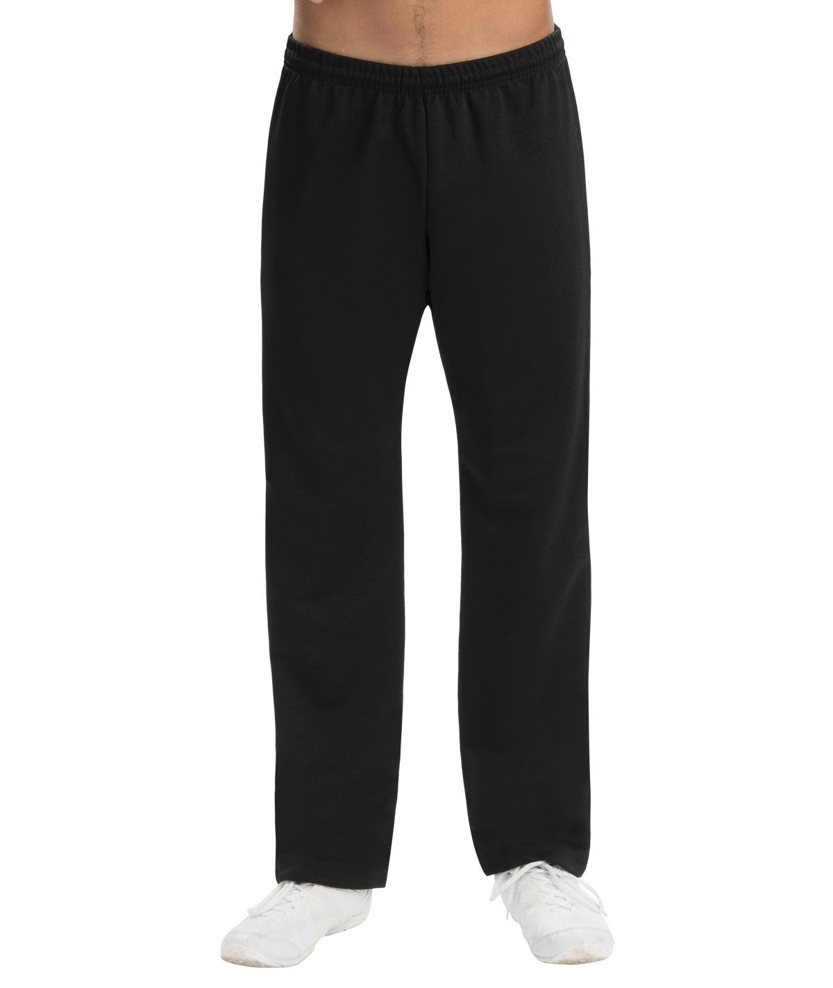 GK All Star Men's Basic Black Ponte Pants