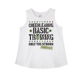 Chasse Cheerleading Basic Training Tank
