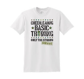 Chasse Cheerleading Basic Training Tee