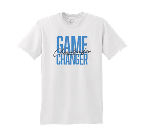 Chasse Cheerleader Game Changer Tee