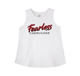 Chasse Fearless Cheerleader Tank