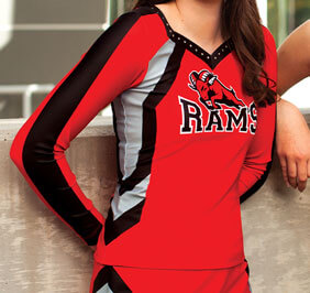 GK Spirit Sublimated Long Top