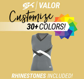 GK Valor Sublimated Shell Top