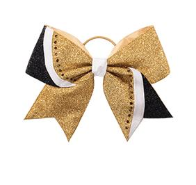 Chasse Rhinestone Swish Performance Hair Bow