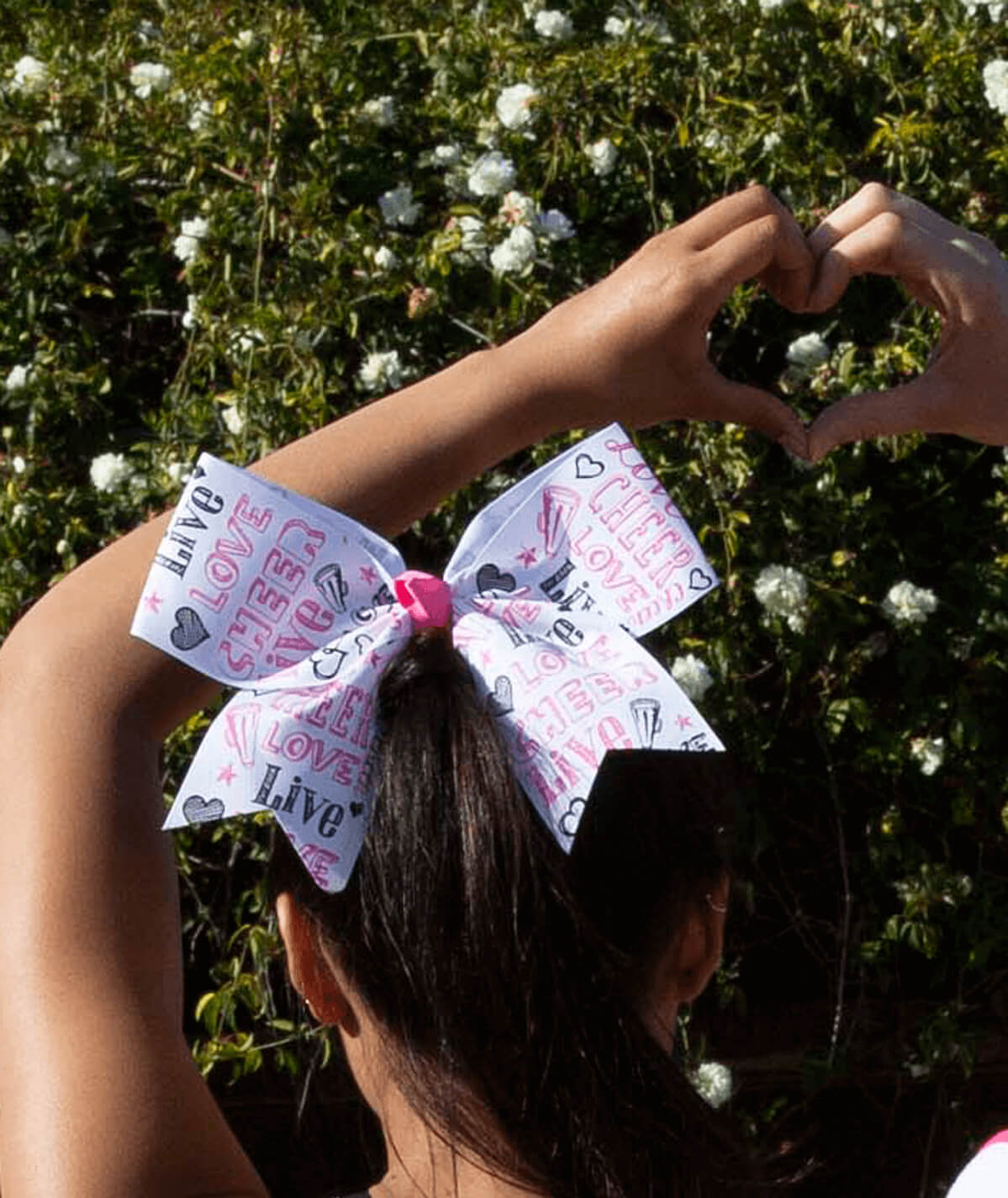 Chassé Live Love Cheer Hair Bow