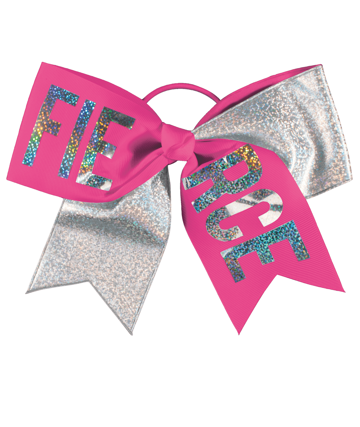 Chassé Fierce Holographic Performance Hair Bow