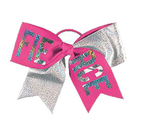 Chasse Fierce Holographic Performance Hair Bow