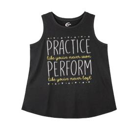 Chasse Practice Perform Cheer Tank