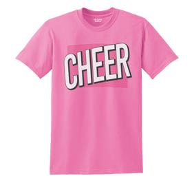 Cheer All About It Tee