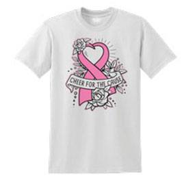 Chasse Cheer For The Cause Tee