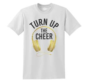 Turn Up The Cheer Tee