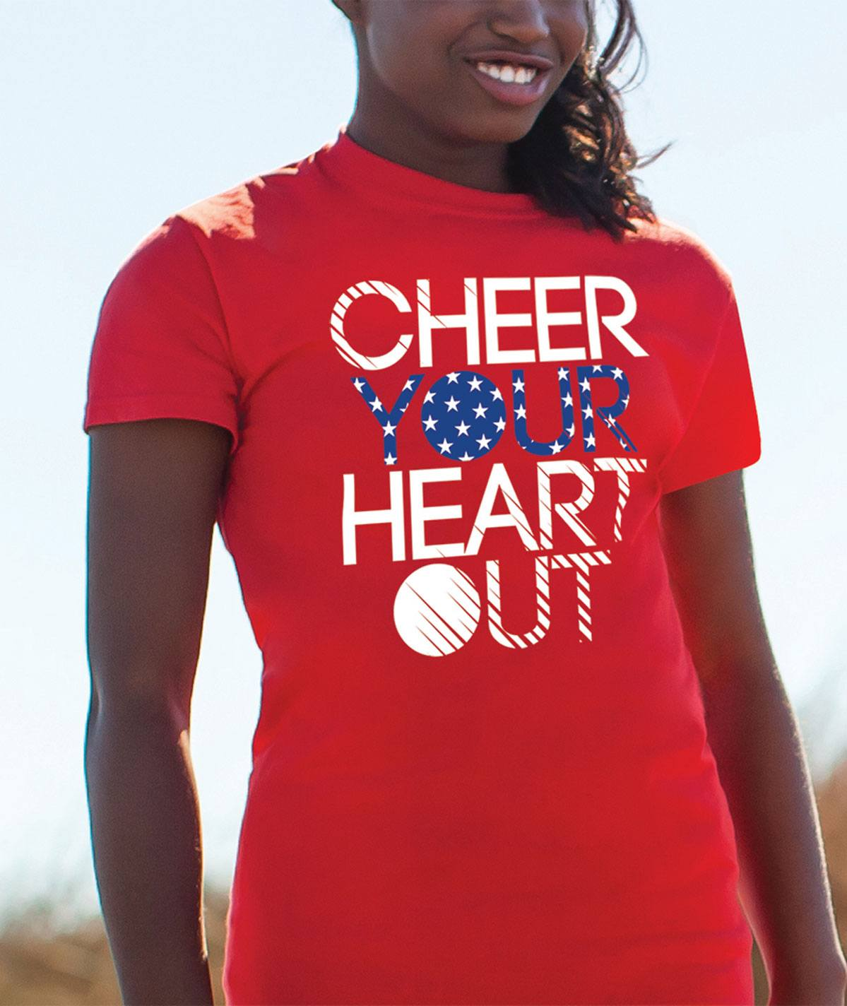 Chassé Liberty Cheer Tee