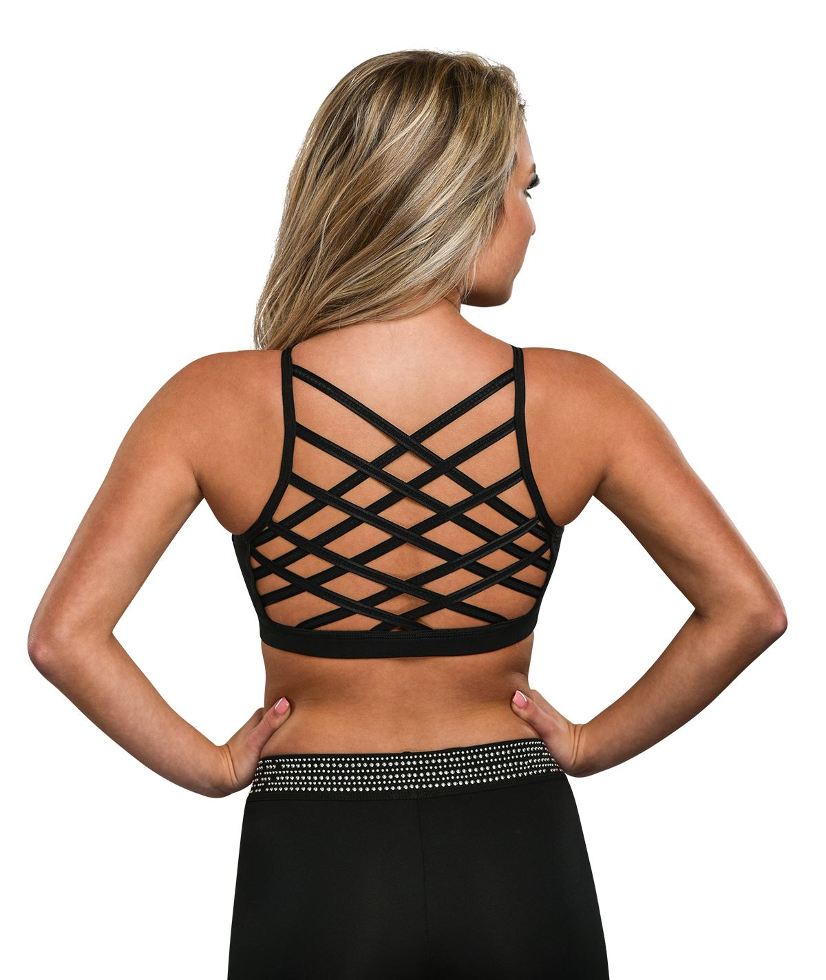 GK All Star Criss Crossed Crop Top