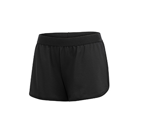 GK All Star Black Banded Relaxed Short
