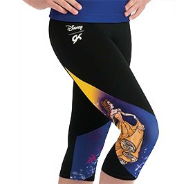 Beauty and the Beast Capri Pants