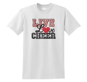 Chasse Live And Love Cheer Tee