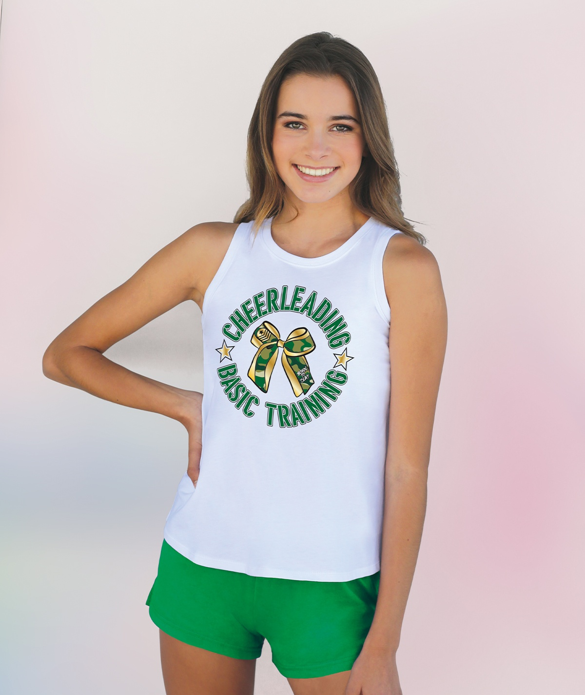 Chasse Cheer Boot Camp Tank