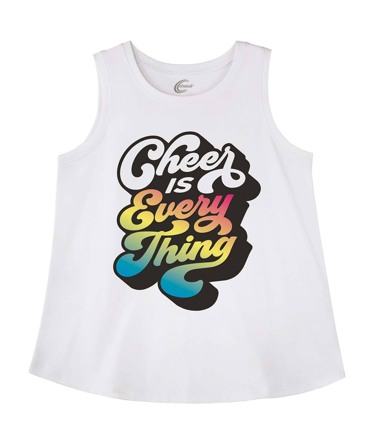 Chasse Cheer Is Everything Tank