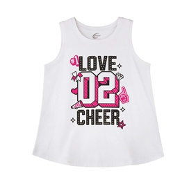 Chasse Love To Cheer Tank
