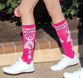 Chasse Cheer for the Cause Knee High Sock
