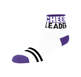 Chasse Cheerleader For Life Sock