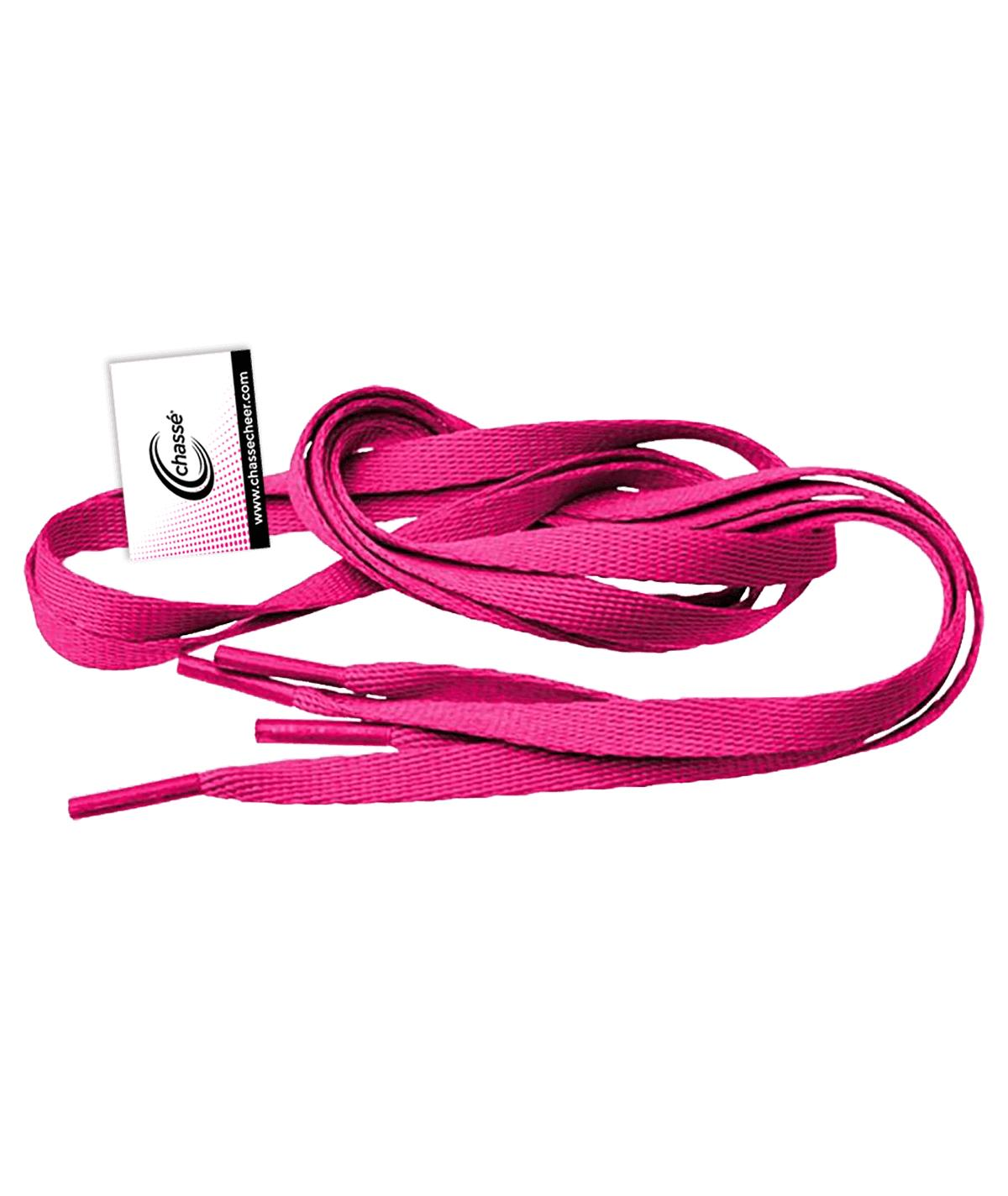 Chassé Pink Shoelaces