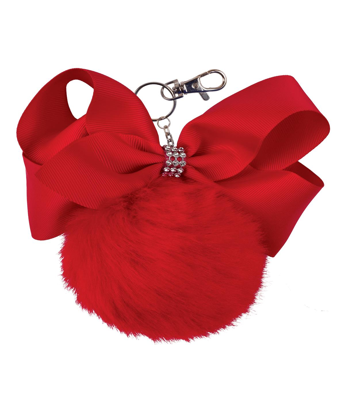 Chasse Puff Pom Keychain