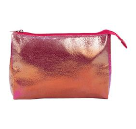 CHASSE HOLOGRAPHIC MAKEUP BAG