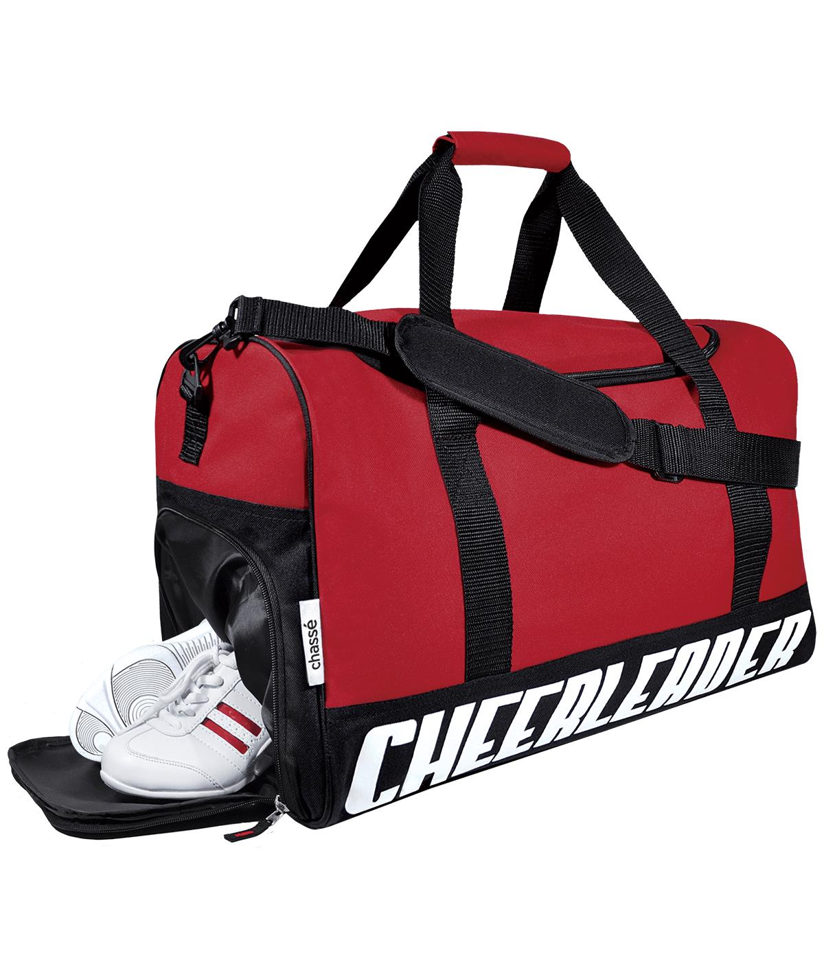 TRAVEL BAG W/CHEERLEADER IMPRINT