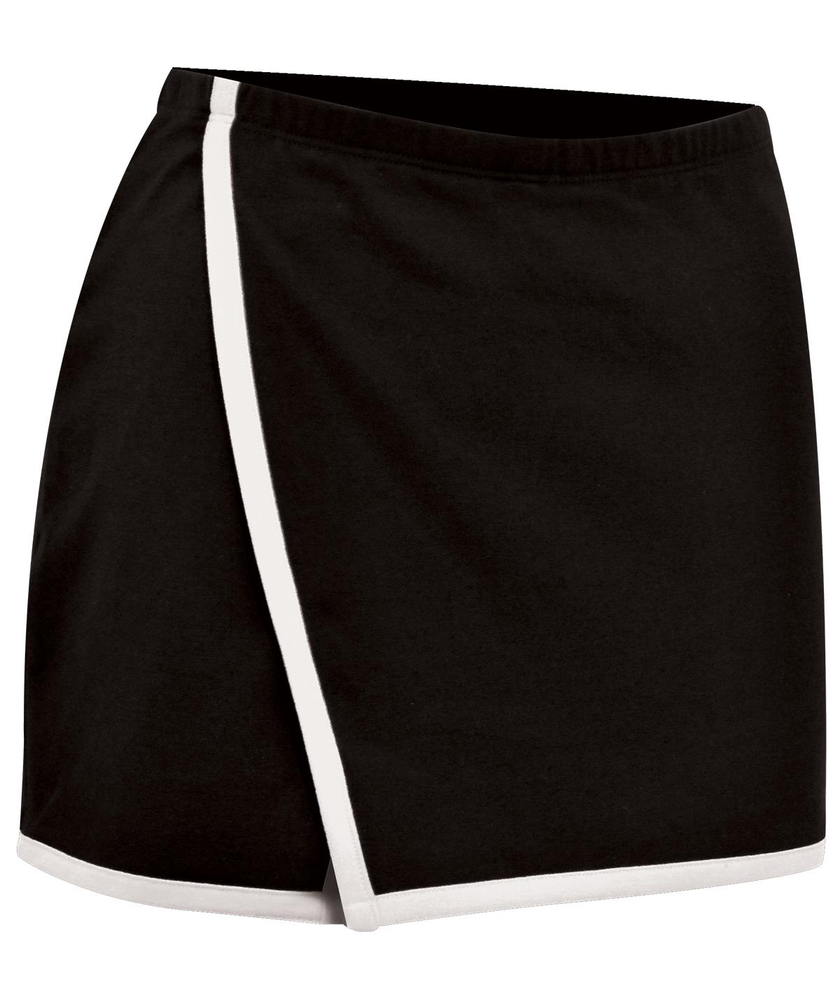 Lycra V Skirt With Built In Shorts