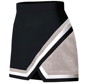 Metallic Edge Panel Skirt